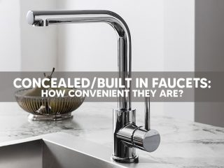 ConcealedBuilt In Faucets How Convenient They Are