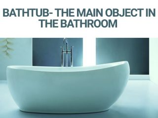Bathtub- The Main Object In The Bathroom