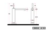 Single Lever Basin Mixer Long Body