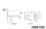 Basin Mixer Wall Mounted