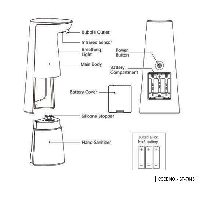 Portable Foam Soap Dispenser
